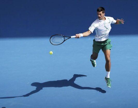 Djokovič sa pri podaní inšpiroval Ivaniševičom a suverénne postúpil do osemfinále Australian Open (video)