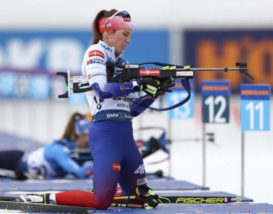 """Paulína Fialková dosiahla v """"masáku"""" svoje najlepšie umiestnenie na tohtoročných MS v biatlone"""